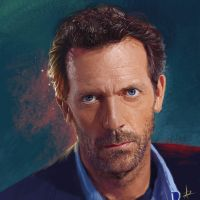 Hugh Laurie by Tema-Arty