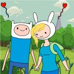 Finn and Fionna by zenzatsionen
