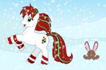 Minty-D 2014 Christmas by guardian-of-moon