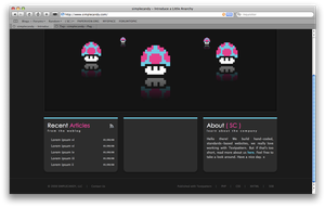 Updated Homepage by simplecandy