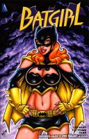 Batgirl sexy redesign sketch cover by gb2k