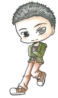 Senior Chibis: Christopher Mar by iloveanime9251