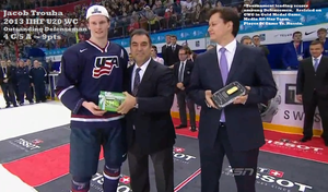 Jacob Trouba, Outstanding Defenseman by WingDiamond
