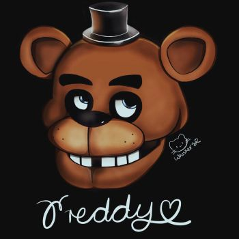 Freddy Fazbear by Whiskers-the-Cat