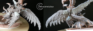 Kyl - IX only one wing to go...! (Detail wings) by Wesenwaechter