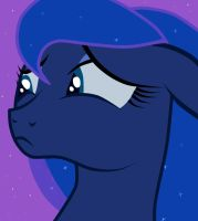 Princess Luna - what did I do wrong ? by vaiss