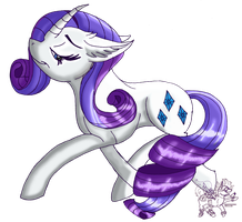 .:Rarity:. by Downpourpony