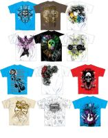 Boys Edgy T-shirt Designs by 13star