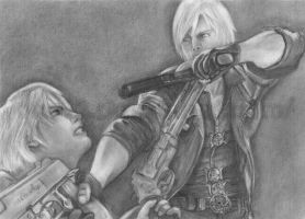 Devil May Cry 4-Dante and Nero by ong92