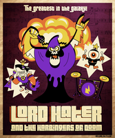 Lord Hater and the Harbingers of Doom by MaxGraphix