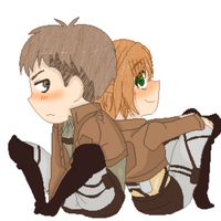 Jean x Chizu! by animelover876