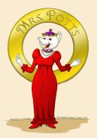 Mrs. Potts by LordRembo