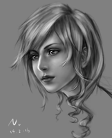 lightning shading practice by Narual