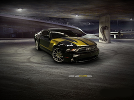 Ford Mustang Digital Mods 6 by junaid-saeed