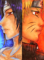 Naruto - Fire and Ice by thecapturedspy