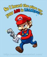 Don't Screw With the Plumber by samlow