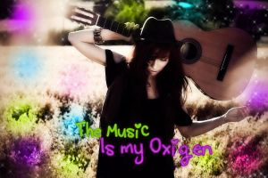 The Music is my Oxigen1 by TheYamiiSa