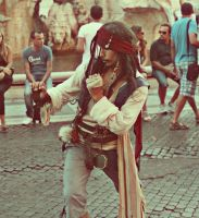 pirate of the piazza navona by cagriilban