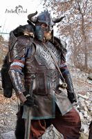 Dwarf Leather Armor by Feral-Workshop