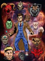 Doctor Who Tenth Doctor by MonsterIslandStudios