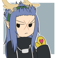 KH Christmas Icons - Saix by infinitehearts