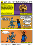 Spark Comic 57 - Death Of A Penny's Worth by SuperSparkplug