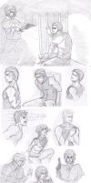 Devotion sketches... by Cissy-88