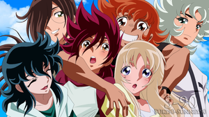 Saint Seiya Omega 97 Last Screen - Re-colored by Sunney90