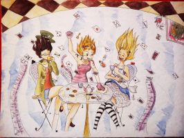 *A Tea Party in Wonderland* by MaCia998