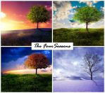 The Four Seasons by Emerald-Depths