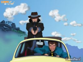 Me as Lupin the 3rd_ Poster 5 by FilmmakerJ