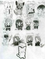 FMA kitties by Awkwardly-Handsome