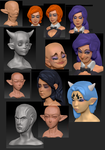 Zbrush experience by ManiacPaint