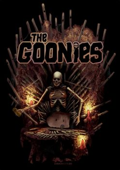The Goonies organ by Zirkon777