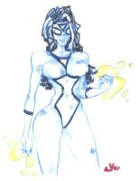 DAILEY SKETCH Spider-Woman by jasinmartin