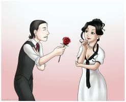 A Flower for the Lady by MarvelPoison