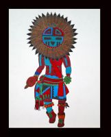 Sun Flower Kachina by IHGhost