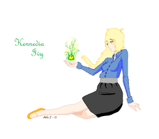 Kennedia Ivy - The Sorceress by fiolee4evah900