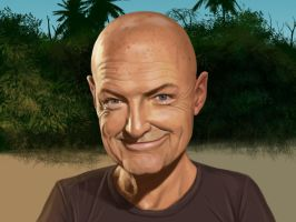 Terry O'Quinn as John Locke by mattleese87