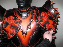 Lion Armor Breastplate by Azmal