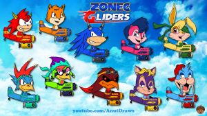 Zonec Gliders by AnutDraws
