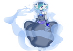 Shiny Mega Gardevoir v.7 : Water style by Shadow-pikachu7