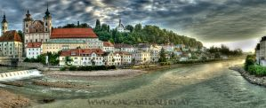 My_Hometown_Steyr_Panpainterly by cmg2901