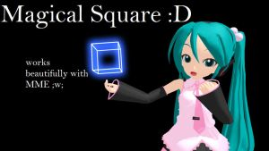 [MMD] Magical Square DL by monobuni