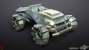Firefall Vehicle by profchaos354