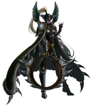 Maiev Shadowsong by Blackfang9