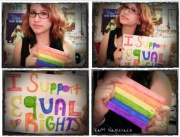 I support equal rights. by emobear