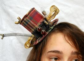 Tiny Top Hat: Steampunk Mad Scientist by TinyTopHats