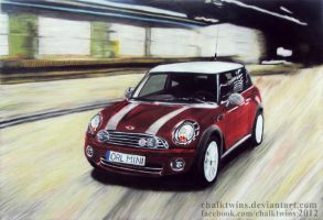 Mini Cooper by ChalkTwins