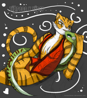 Tigress x Viper by DrGaster